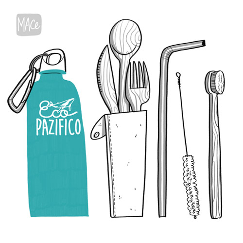 Reusable personal utensils