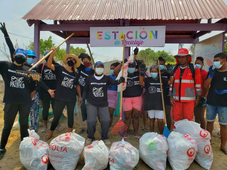 Beach clean up for the planet
